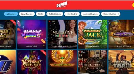 Refuel Casino Game options Canada