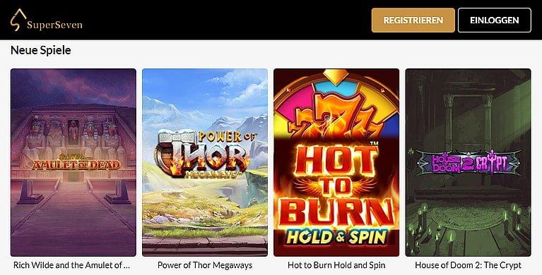 SuperSeven Slot Spiele