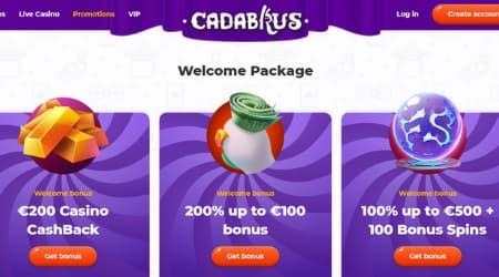 Cadabrus casino promotional offers