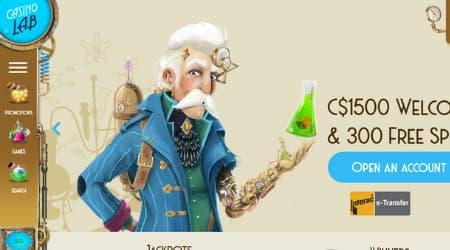 CasinoLab homepage