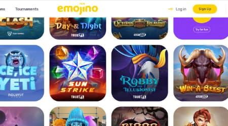 Emojino games offer