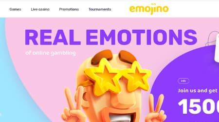 Emojino Casino Homepage