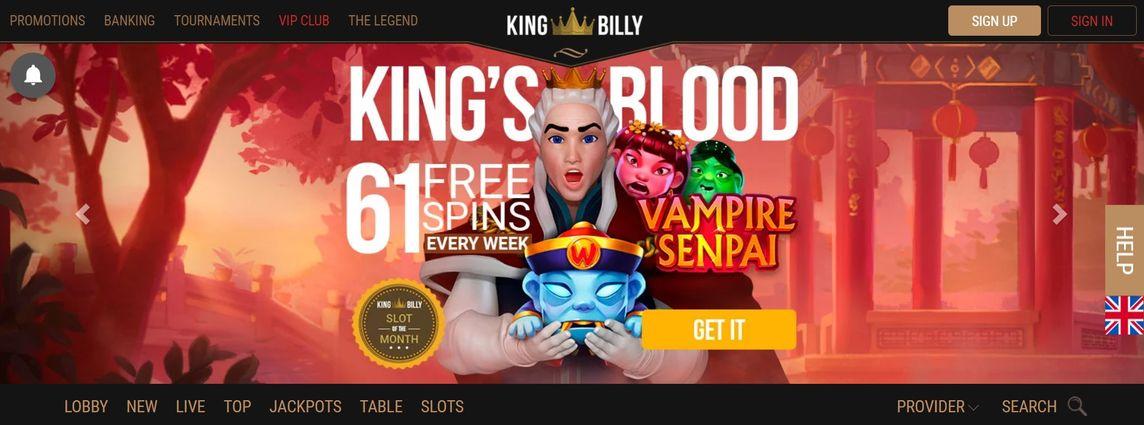 King Billy 賭場