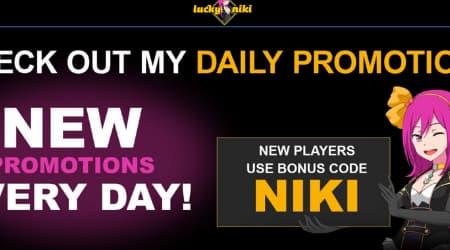 LuckyNiki Promotions