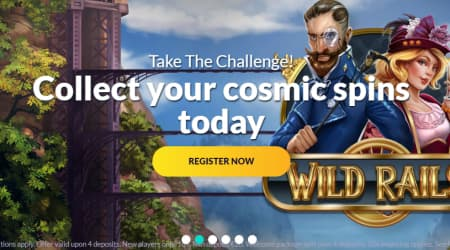 Playluck casino sign-up page