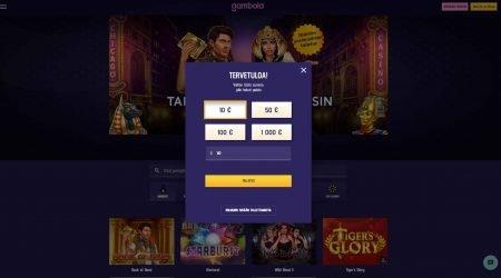 Gambola casino rekisteröinti