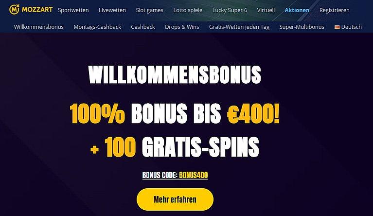 Mozzart Bonus Code