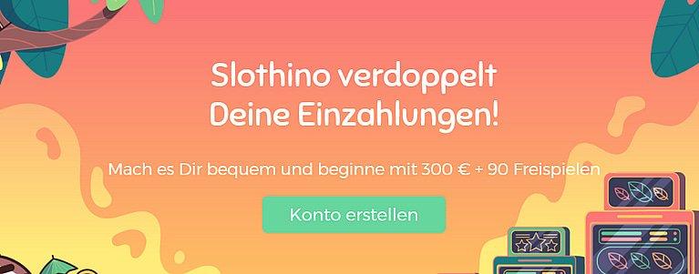 Slothino Bonus