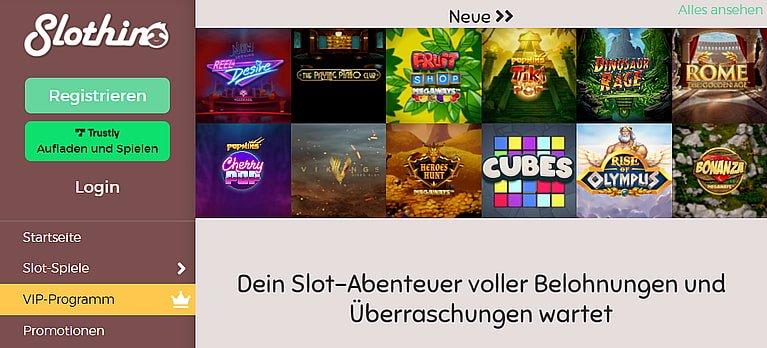 Slothino Spiele Slots