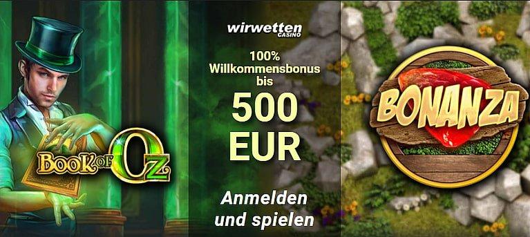WirWetten Bonus & Freispiele