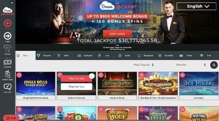dream jackpot casino review canada
