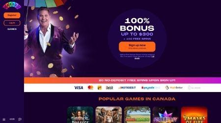 Wheelz online casino welcome bonus