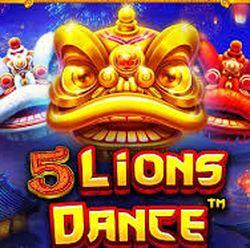 5 Lions Dance (五舞狮)