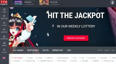 TTR Casino weekly promotions