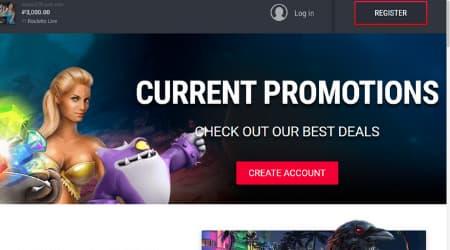 TTR Casino Online promotions