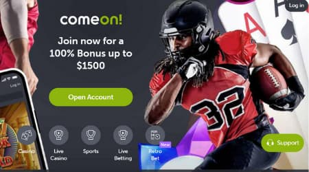 Come on! Online casino promotions