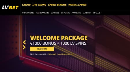 LV Bet online casino