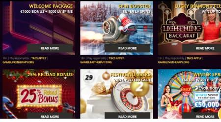 LV Bet online casino promotions