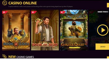LV Bet online casino games