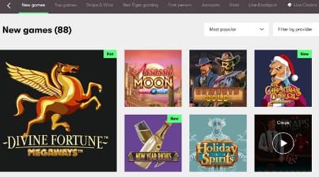 10bet online casino games