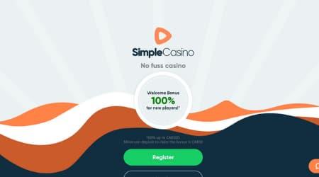 Simple Casino Welcome Bonus