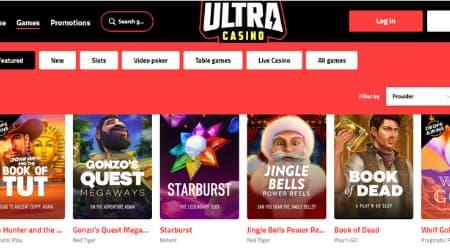 Ultra casino games