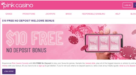 Pink online casino