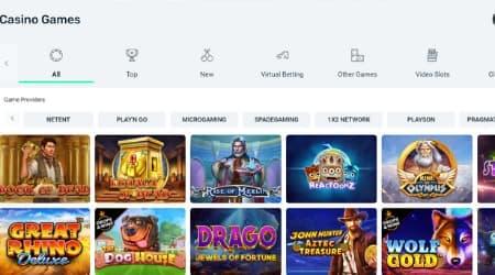 Wallace Bet online casino games