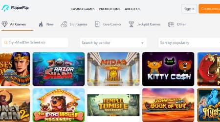 FlipperFlip Casino Games