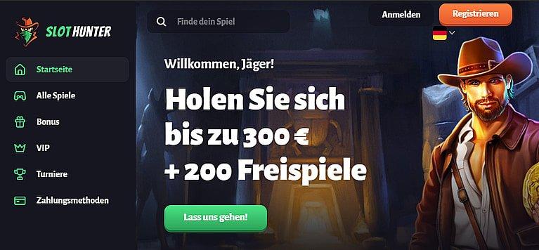 Slothunter Bonus & Freispiele