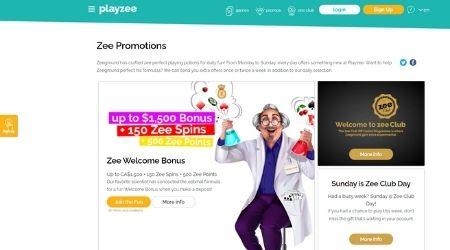 playzee casino promotions