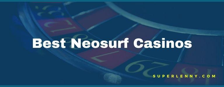 best neosurf casinos
