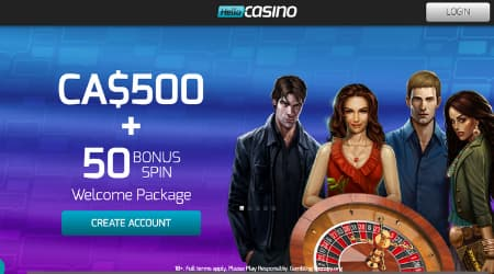 Hello Casino Welcome Promotion