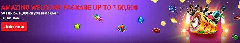 Spades Planet Casino India Welcome Bonus