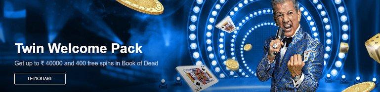 Twin Casino India Welcome Bonus