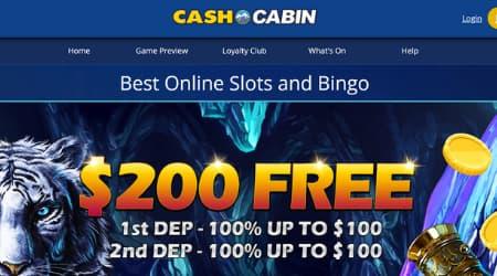 Cash Cabin Online Casino