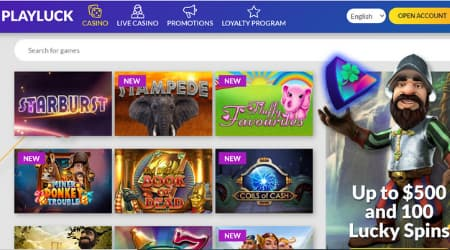 Play Luck Casino games