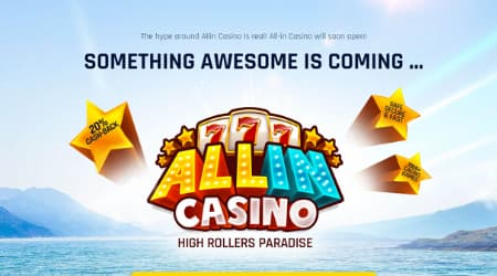 All in Casino coming soon