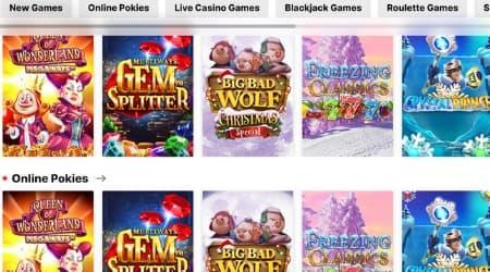 Pokie Place online casino games