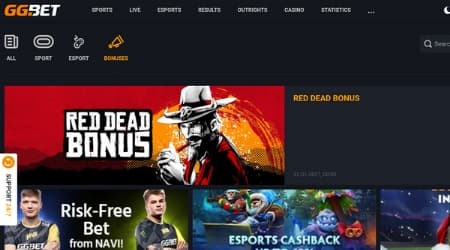 GG.bet online casino bonus