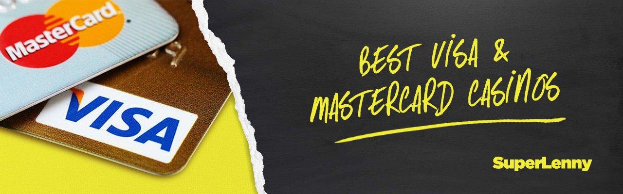 Best Visa & Mastercard online Casinos in the UK