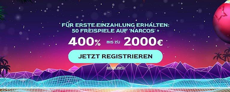 Ocean Breeze Bonus für Neukunden bis 6.000 € + 150 Freispiele