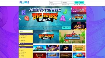Flume casino game of the week