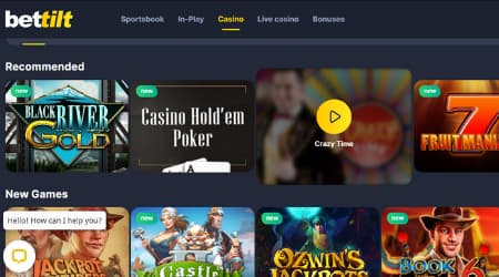 Bettilt online casino games