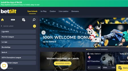 Bettilt sportsbook welcome bonus