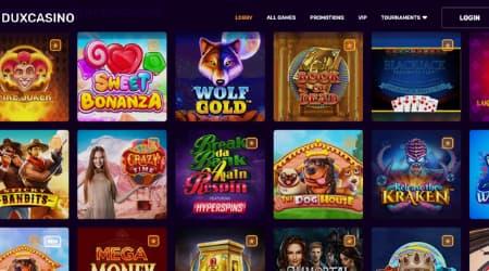 Dux casino games