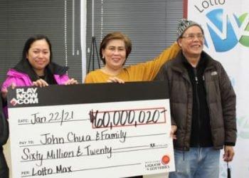 Manitoba Family Wins Whopping CA$60 Million Lotto Max Jackpot