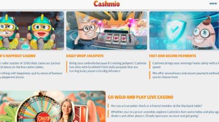 Cashmio online casino