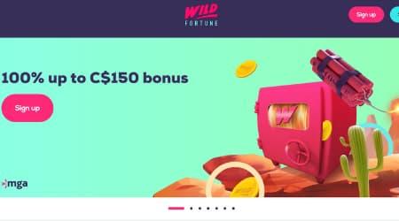 Wild Fortune Welcome Bonus