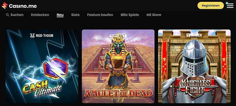 Casino.me Slot Spiele